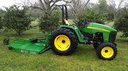 2013 John Deere 4105 4WD Tractor w/ Mower
