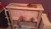 Antique corn huller in decent shape