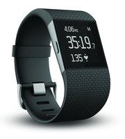 Fitbit Surge Super Fitness Tracker Watch,  Black,  Large